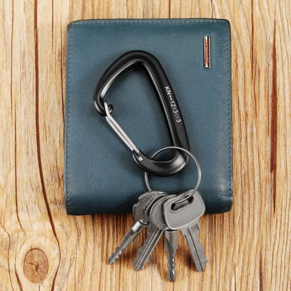 12Kn Wire gate Carabiner for Keys