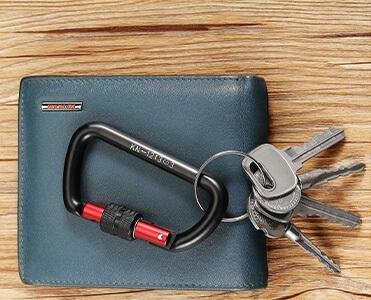 12kN Screw Locking Keyring